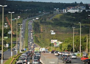 Brasilia - Movimento de saída para o feriado de carnaval  tranquilo no Aeroporto JK e rodovias do Distrito Federal(José Cruz/Agência Brasil)